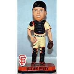 Buster Posey San Francisco Giants MLB 2014 Springy Logo Bobblehead Figurine by Forever Collectibles
