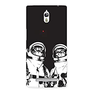 Cute Cat Astro Back Case Cover for Oppo Find 7
