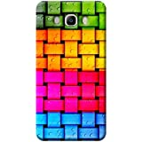 Tecozo Designer Printed Back Cover For Samsung Galaxy J5 (2016), Samsung Galaxy J5 (2016) Back Cover, Hard Case For Samsung Galaxy J5 (2016), Case Cover For Samsung Galaxy J5 (2016), (Colorful Knitted Wires Design,Colourful)