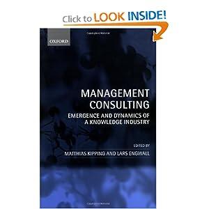 Management Consulting Matthias Kipping Lars Engwall