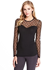 Heatgen™ Spotted Mesh Thermal Top