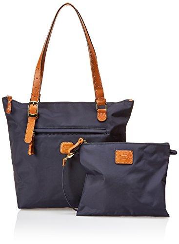 Bric's Borsa Messenger X-bag Shopping Blu (blu oceano)