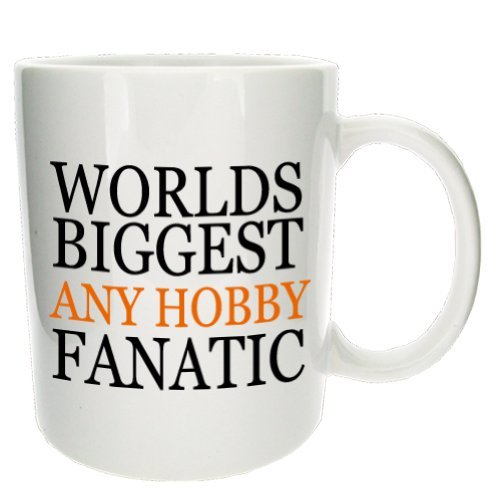 Personalised Hobby Fanatic Office Coffee Tea Gift Mug - Mugsnkisses Collection.