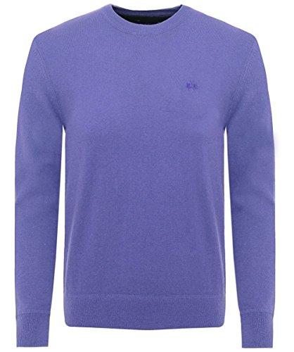La-Martina-Wool-Blend-Rafael-Jumper-Blue
