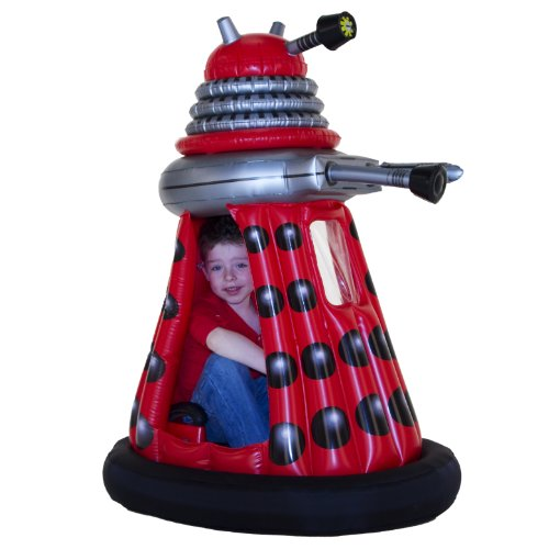 Dr Who 6 volt Ride in Dalek - Red