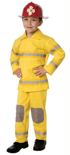 Costumes For All Occasions Lf3522Csm Fireman Child Small