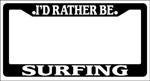 surfing license plate