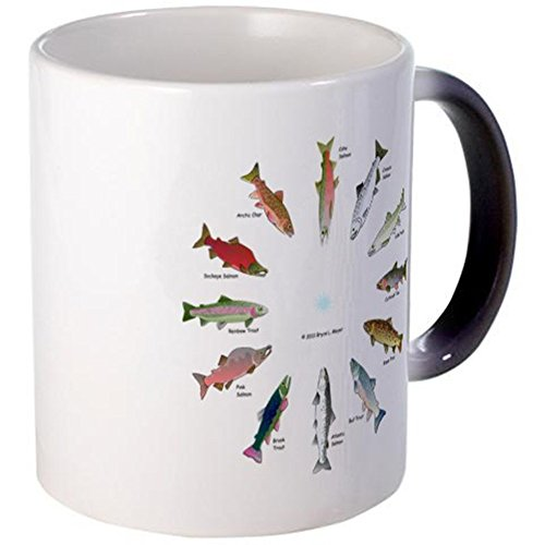cafepress-north-american-salmon-and-trouts-clocks-mugs-unique-coffee-mug-11oz-coffee-cup