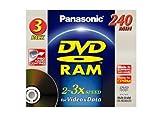 PANASONIC DVD RAM 9.4Gb D/L Pack 3