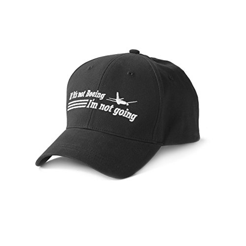 If It's Not Boeing, I'm Not Going Hat; COLOR: BLACK; SIZE: ONSZ (Boeing Cap compare prices)