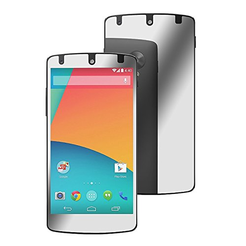 Everydaysource® Compatible With Lg Nexus 5 D820 /D821 Reflective Mirror Finish Lcd Screen Protector Film Shield Guard Cover