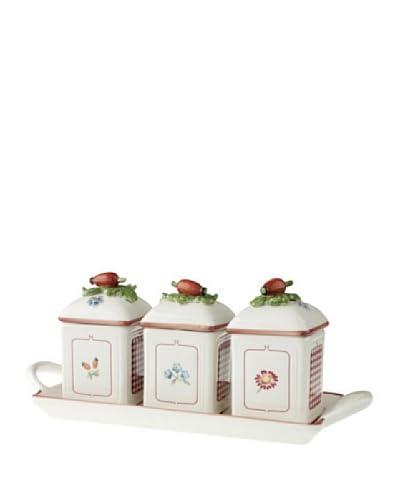 Villeroy & Boch AG Marmeladendose 3er Set Petite Fleur Charm