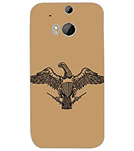 HTC ONE M8S EAGLE Back Cover by PRINTSWAG