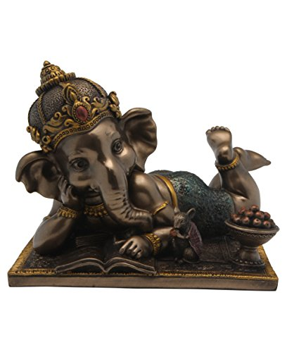 Baby Ganesh Statue, Reading