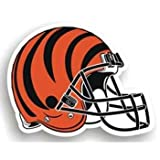 "Cincinnati Bengals 12"" Helmet Car Magnet Amazon.com"
