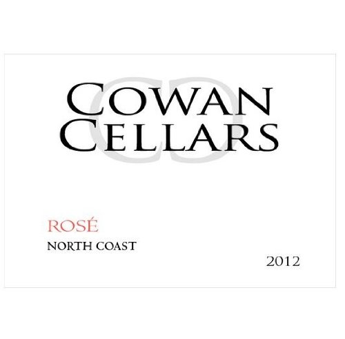 2012 Cowan Cellars Rose Of Pinot Noir, North Coast 750 Ml