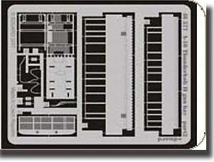 Eduard - baie de canon de Fairchild A-10 Thunderbolt II (pour les maquettes Hobby Boss) - ED48577