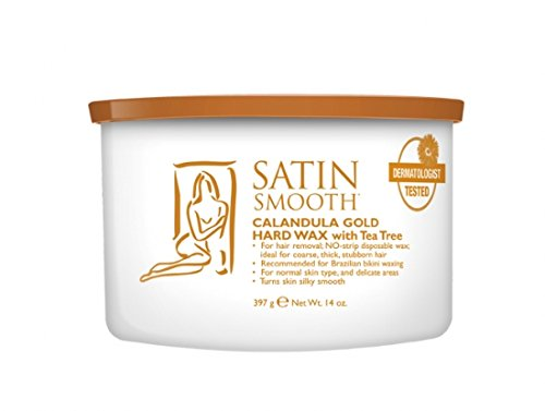 Satin Smooth Calendula Gold® Hard Wax With Tea Tree Oil