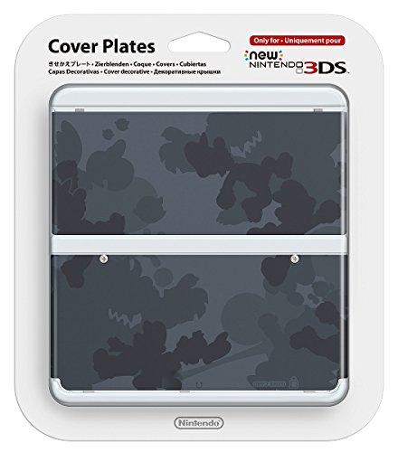 Kisekae Plate No.045 (Grey Camo Mario) [Nintendo 3DS]