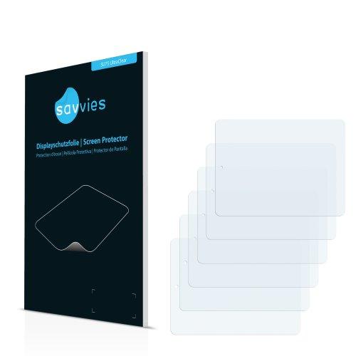 6x Displayschutzfolie für Prestigio MultiPad 8.0 Pro Duo PMP 5580C_Duo Folie Schutzfolie Displayfolie - Klar