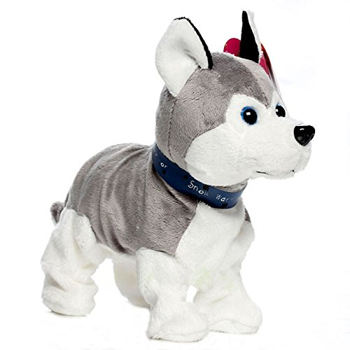 The Walking Barking and Swagging Siberian Husky PUPPY DOG Toy
