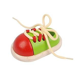 PlanToys - Ata el zapato, juguete educativo (5319) por Plan Toys