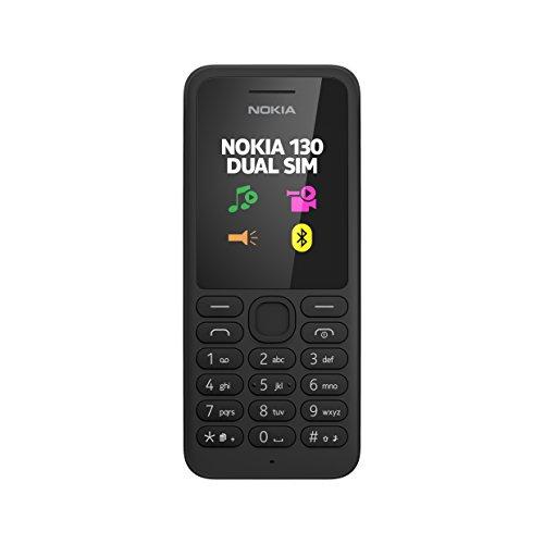 Nokia 130 Telefono Cellulare, Nero [Italia]