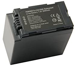 STK's Panasonic CGA-D54 Camcorder Battery 6000mAh - for Panasonic AG-HRX200 series of camcorders from STK/Sterlingtek