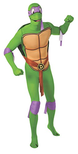 Rubie's Costume Men's Michelangelo 2Nd Skin Adult Costume with Removable Shell