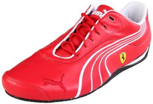 competitive price ee956 0c03f Puma Drift Cat III SF NM Ferrari Fashion Sneaker,Red Clay White Black,Men s  10.5 D US Women s 12 B US