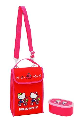 Sanrio Hello Kitty Lunch Bag With Container -- 5 Styles To Choose From!