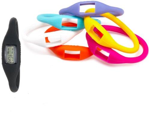 TKO ORLOGI Women's TK592 Silly Set 7 Piece Interchangeable Rubber Sports  Watch