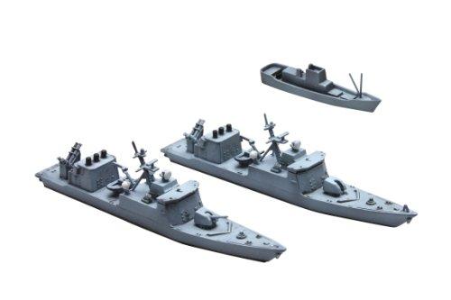 1/700 ウォーターライン No.18 海上自衛隊 ミサイル艇 おおたか しらたか