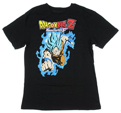 Dragon Ball Z: Resurrection 'F' Super Saiyan God SS Goku T-Shirt (X-Small)