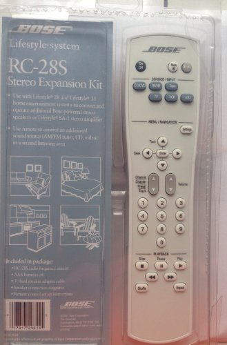 Bose Remote Rc28S2-27 New