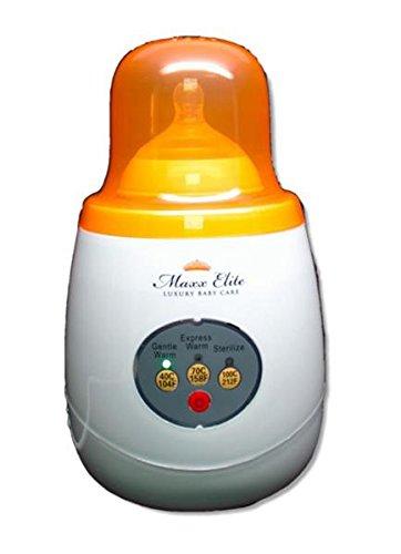 maxx-elite-gentle-warm-smart-bottle-warmer-sterilizer-w-steady-warm-orange