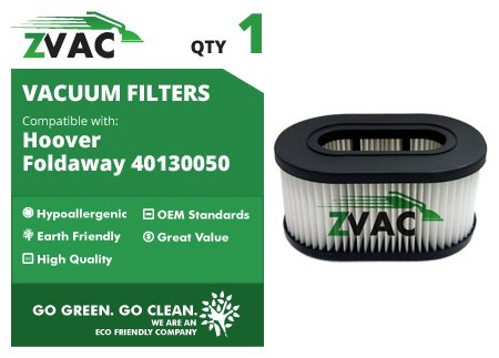 Fold Away Hoover Hepa Vacuum Cleaner Replacement Filter