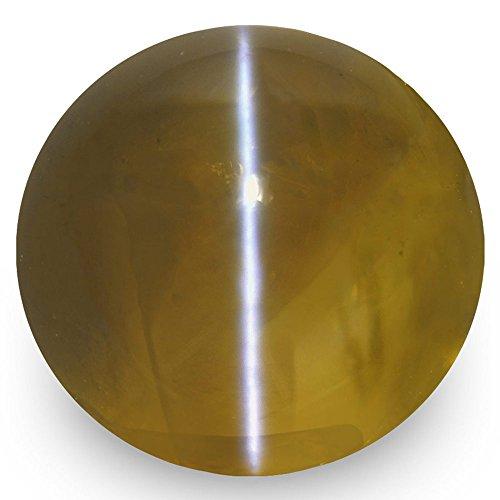 10.26-Carat Natural Chrysoberyl Cat's Eye - 100% Unheated & Untreated, Premium Loose Gemstone