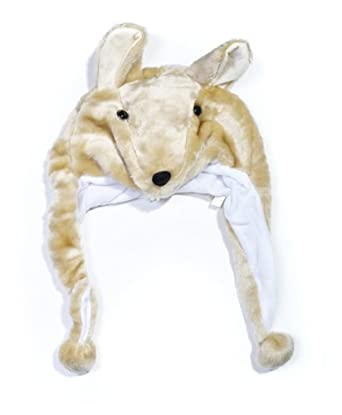 Plush Animal Winter Hat Kangaroo