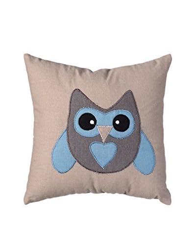 Cojín Owl Beige