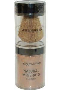 Max Factor Natural Minerals Foundation - 85 Caramel
