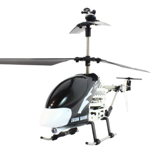 My Funky Planet My Web RC - Iron Hawk Helicopter, Black