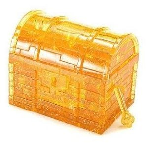 41xL9nYOU0L Cheap Price Treasure Box Gold 3D Crystal Jigsaw Puzzle