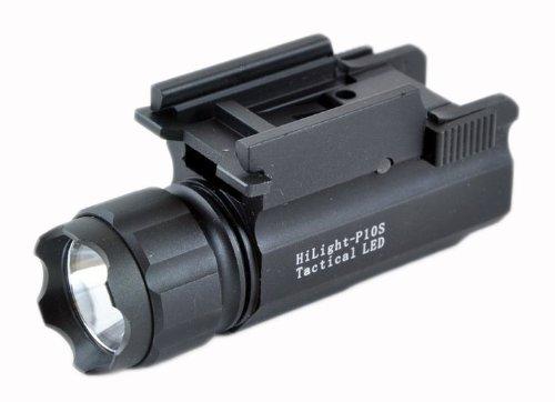 Hilight 300 Lumen Pistol Led Strobe Flashlight With Weaver Quick Release