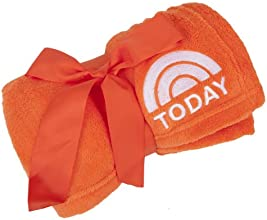 Today Show Embroidered Plush Blanket