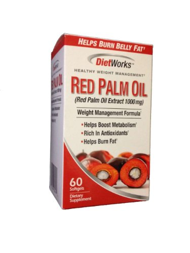 Diet Works Red Palm Oil - 60 softgels (Red Palm Oil Capsules compare prices)