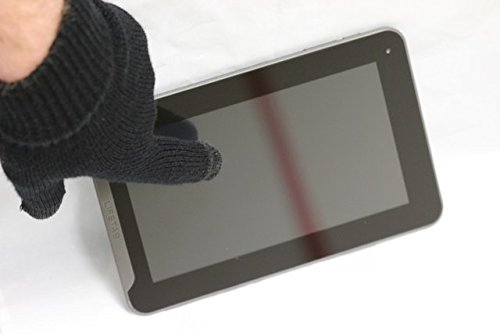 Navitech Schwarze Touch Screen Handschuhe Für Alle Smart Phones Und Tablets wie das Sony Xperia X10 & 10i, sony xperia x10 mini, sony xperia pro, sony xperia x10 mini pro, Sony Ericsson Xperia Neo, Sony Ericsson Xperia Arc, Sony Ericsson Xperia