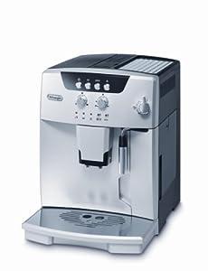 DeLonghi ESAM04.110.S Kaffee-Vollautomat Magnifica New Generation (1.8 l, Dampfdüse) schwarz/Edelstahl