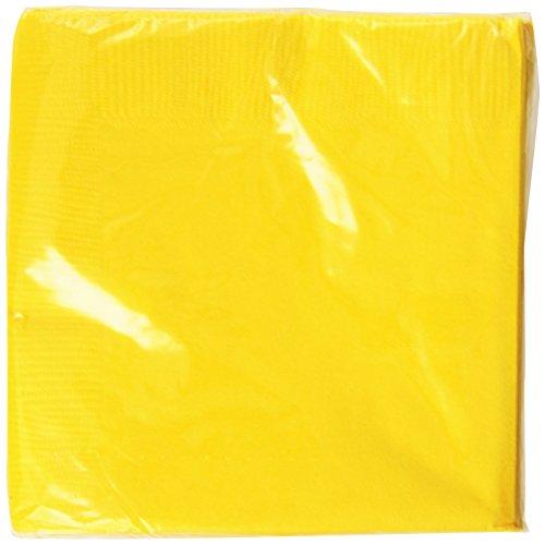 Weddingstar-Beverage-Size-Napkins-Saffron-Yellow-50-Pack