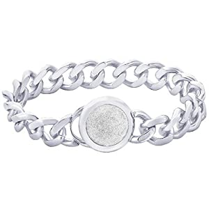 Peora Valentine 316L Stainless Steel Men Bracelet PSB756 available at Amazon for Rs.2600